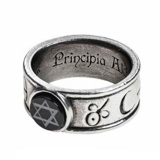 prsteň ALCHEMY GOTHIC - Principia Alchemystica, ALCHEMY GOTHIC
