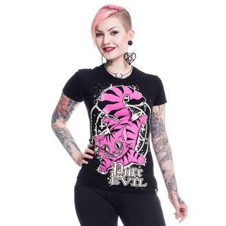 tričko dámske Cupcake cult - PURR EVIL - BLACK, CUPCAKE CULT