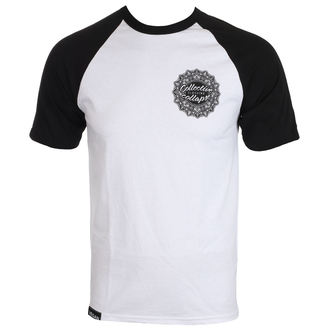tričko pánske COLLECTIVE COLLAPSE - CCC mandala UNI - white Baseball, COLLECTIVE COLLAPSE