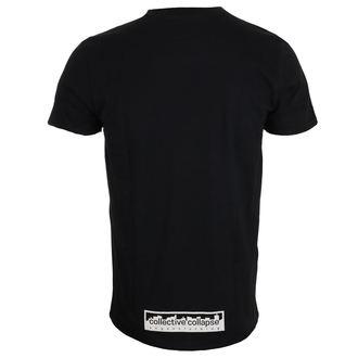 tričko pánske COLLECTIVE COLLAPSE - Straight Edge - black, COLLECTIVE COLLAPSE