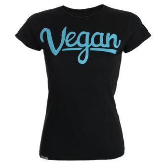 tričko dámske COLLECTIVE COLLAPSE - Vegan Letters - turquoise, COLLECTIVE COLLAPSE