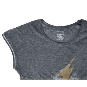 tričko dámske Liga spravedlivých - FLASH - antracite, NNM