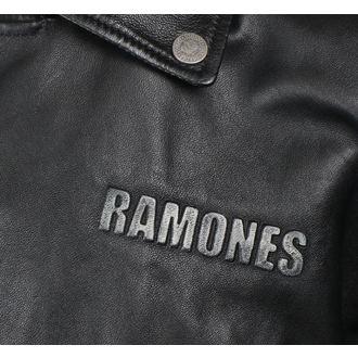 bunda pánska (křivák) Ramones - BLACK