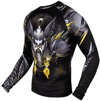 tričko pánske s dlhým rukávom (termo) Venum - Viking 2.0 Rashguard - Black/Yellow, VENUM