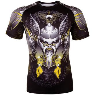 tričko pánske (termo) Venum - Viking 2.0 Rashguard - Black/Yellow, VENUM