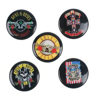 odznaky Guns N' Roses - Bullet Logo - RAZAMATAZ - BB037