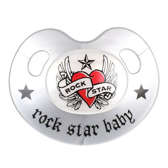 cumlík ROCK STAR BABY - Heart & Wings, ROCK STAR BABY