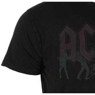 tričko pánske AC/DC - Vintage Silhouettes - Black - ROCK OFF, ROCK OFF, AC-DC