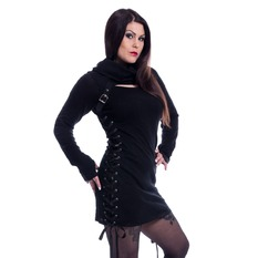 sveter dámsky Poizen Industries - REECE TOP LADIES BLACK, POIZEN INDUSTRIES