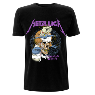 tričko pánske Metallica - Damage Hammer - Black - RTMTLTSBDHA
