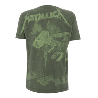 tričko pánske Metallica - Kill 'Em All - Olive Green, NNM, Metallica