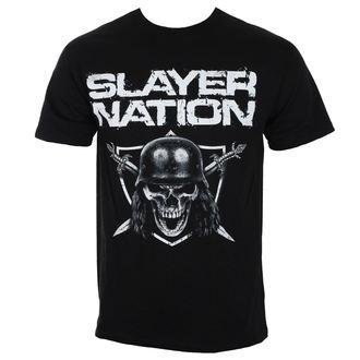 tričko pánske SLAYER - NATION 2014 DATEBACK - BLACK - ROCK OFF, ROCK OFF, Slayer