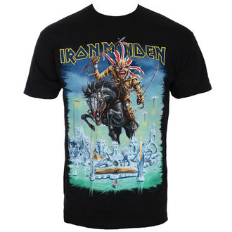 tričko pánske Iron Maiden - Tour Trooper - Black - ROCK OFF, ROCK OFF, Iron Maiden