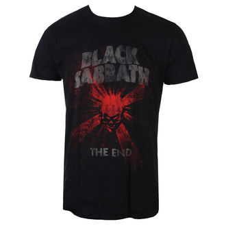 tričko pánske Black Sabbath - The End Skull Shine - Blk - ROCK OFF, ROCK OFF, Black Sabbath