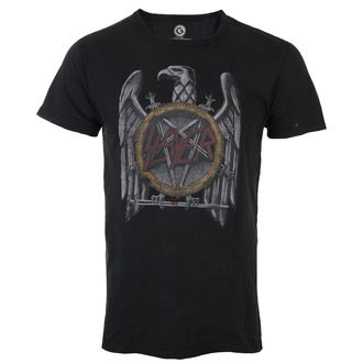 tričko pánske Slayer - Vintage Eagle - Black - ROCK OFF, ROCK OFF, Slayer