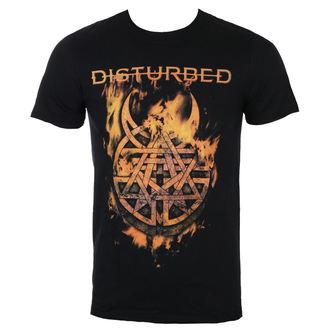 tričko pánske Disturbed - Burning Belief - Blk - ROCK OFF, ROCK OFF, Disturbed