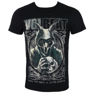 tričko pánske Volbeat - Goat With Skull - Black - ROCK OFF, ROCK OFF, Volbeat