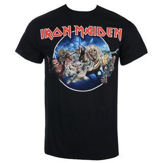 tričko pánske Iron Maiden - Wasted Years - Black - ROCK OFF, ROCK OFF, Iron Maiden