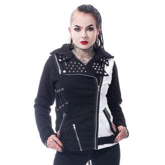 bunda dámska Vixxsin - ROCKSTAR - BLACK/WHITE