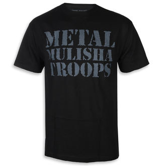 tričko pánske METAL MULISHA - OG TROOPS BLK, METAL MULISHA