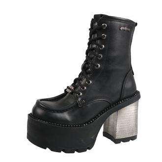 topánky dámske NEW ROCK - ITALI NEGRO, ITALI NEGRO, RIBETE NEGRO, NEW ROCK