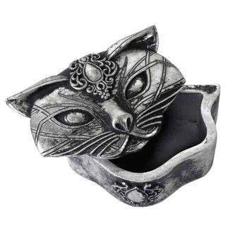 dekorácia (krabička) ALCHEMY GOTHIC - Sacred Cat, ALCHEMY GOTHIC