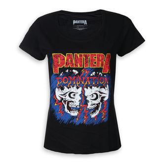 tričko dámske Pantera - Domination - ROCK OFF, ROCK OFF, Pantera