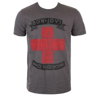 tričko pánske BON JOVI - BAD MEDICINE - PLASTIC HEAD, PLASTIC HEAD, Bon Jovi