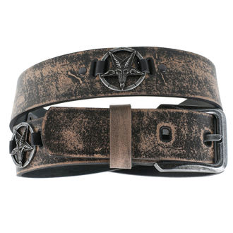 opasok Baphomet - brown, JM LEATHER