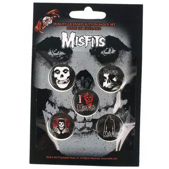 odznaky Misfits - RAZAMATAZ, RAZAMATAZ, Misfits