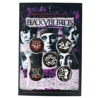 odznaky Black Veil Brides - RAZAMATAZ, RAZAMATAZ, Black Veil Brides