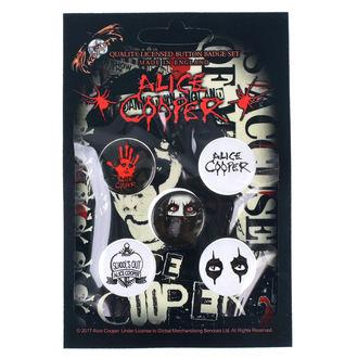 odznaky Alice Cooper - RAZAMATAZ, RAZAMATAZ, Alice Cooper