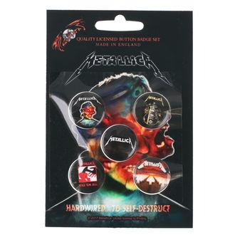 odznaky Metallica - RAZAMATAZ, RAZAMATAZ, Metallica