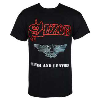 tričko pánske SAXON - DENIM & LEATHER - RAZAMATAZ, RAZAMATAZ, Saxon