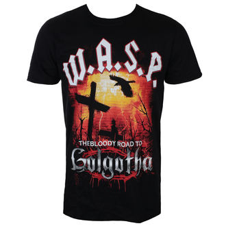 tričko pánske W.A.S.P - BLOODY ROAD - BLACK - LIVE NATION, LIVE NATION, W.A.S.P.