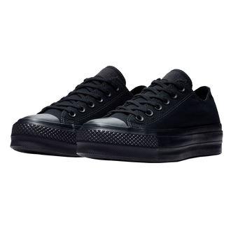 topánky dámske CONVERSE - CTAS CLEAN LIFT BLACK / BLACK / BLACK, CONVERSE