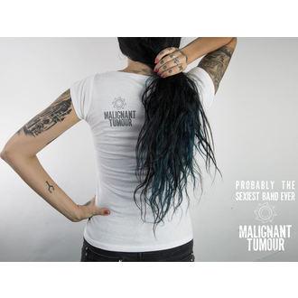 tričko dámske MALIGNANT TUMOUR - Melrose - WHITE, NNM, Malignant Tumour