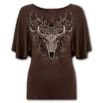 tričko dámske SPIRAL - HORNED SPIRIT - Chocolate, SPIRAL