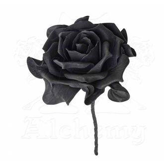 dekorácia ALCHEMY GOTHIC - Single Black Rose with Stem, ALCHEMY GOTHIC