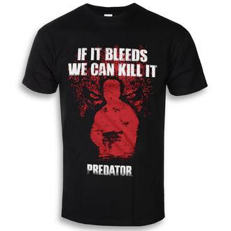 tričko pánske Predator - If It Bleeds - Black - HYBRIS, HYBRIS
