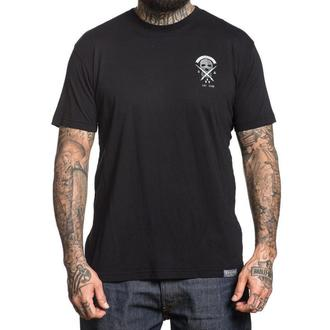 tričko pánske SULLEN - SKI CLUB - BLACK, SULLEN