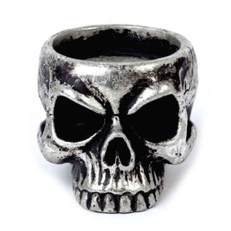 svietnik (dekorácia) ALCHEMY GOTHIC - Skull Tea, ALCHEMY GOTHIC