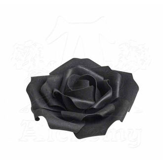 dekorácia ALCHEMY GOTHIC - Small Black Rose Head, ALCHEMY GOTHIC