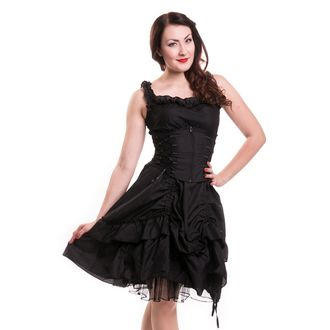 šaty dámske Poizen Industries - SOUL - BLACK, POIZEN INDUSTRIES