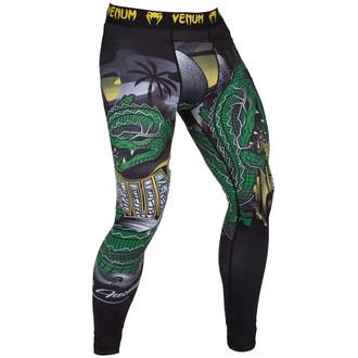 nohavice pánske (legíny) VENUM - Crocodile - Black / Green, VENUM