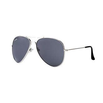 okuliare slnečné MEATFLY - SCOTT - A - 4/17/55 - Silver - Black, MEATFLY
