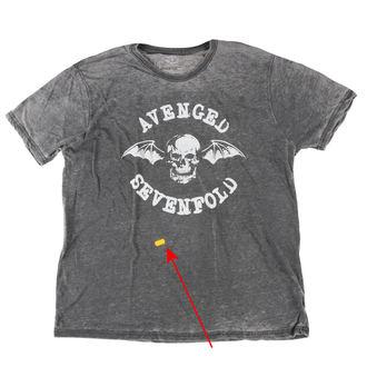 tričko pánske Avenged Sevenfold - Deathbat - ROCK OFF - POŠKODENÉ, ROCK OFF, Avenged Sevenfold
