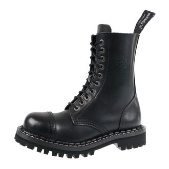 topánky STEADY´S - 10 dierkové - Black, STEADY´S