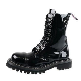 topánky STEADY´S - 10 dierkové - Glossy black, STEADY´S
