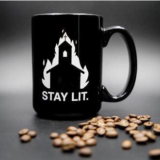 hrnček BLACK CRAFT - Stay Lit, BLACK CRAFT
